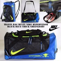 Harga promo tas ransel travel nike blackblue greenlight travel bag | Hargalu.com