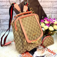 fdeb32778d4a PROMO Tas Gucci Ransel Backpack Multifungsi Benzo FREE POUCH !