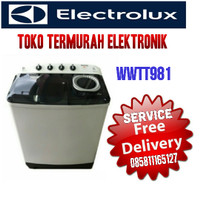 ELECTROLUX MESIN CUCI 2 TABUNG 8KG WWTT981
