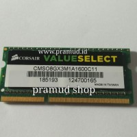 CT24 Ram laptop 8GB DDR3-1600 C3-12800 C12800 C 12800S sodimm / sodim