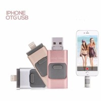 Flash Disk Drive Flashdisk Otg 3In1 Iphone Apple Android Pc 64Gb
