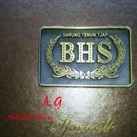 promo murah sarung tenun sutra samarinda merk BHS DUA TEROPONG kotak