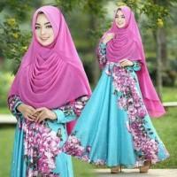 pakaian trendy terlaris AL MAXI CANTIK BAJU MUSLIM WANITA DEWASA MURAH