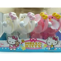 Best Seller Kipas Angin Pompa Tangan Karakter Hello Kitty dan Pokemon-