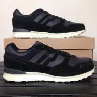 Sepatu Casual Piero Jogger Premium Shadow Black Raven P20260 Original