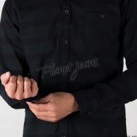 Murah BAJU Kemeja bahan Flanel / Flannel tangan panjang untuk cowok