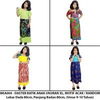 Daster Anak Batik, Baju Tidur Anak, Ukuran XL (BKA004-A) Murah
