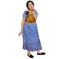 Daster Anak Batik, Baju Tidur Anak, Ukuran XL (BKA004-B) Murah