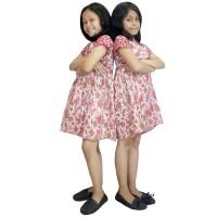 Dress Merah Batik Anak, Baju Tidur Anak, Ukuran XL (DKA003-01) Murah