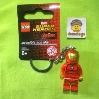 Lego Original Keychain Minifigure Ironman Iron-Man Superheroes