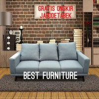 Best Furniture Wellingtons Sofa Minimalis 3 Dudukan uk 190x90cm