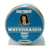 Jual Pomade Water Based VAMPODE Aquamen Lokal Medium Blue Murah