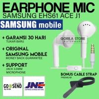 [MURAH] Earphone SAMSUNG ACE J1 YOUNG S4 NOTE ORIGINAL ! Built in MIC