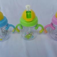 Jual Botol Minum Susu Anak Bayi Training Bottle murah BPA FREE ADA GAGANG Murah