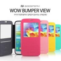 Original Mercury Goospery Wow Bumper View Case Samsung Galaxy E7