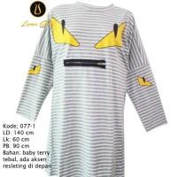 kaos atasan pakaian baju wanita  ukuran besar/jumbo/big Murah