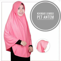 Jual Khimar/Hijab/Jilbab Instan Pet Syari Jumbo Murah