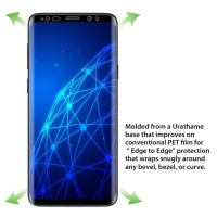 Samsung S8 - S8 Plus 3D Full Cover anti gores hp EDGE PET SCREEN GUARD