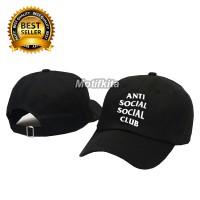 Topi Baseball ANTI SOCIAL SOCIAL CLUB ASSC keren Motifkita