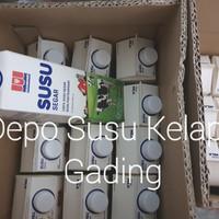 Susu Diamond Full Cream 12 pcs karton | Diamond Fresh Milk segar plain