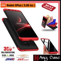 Case 360 Xiaomi Redmi 5 Plus ( 5.9inc ) Casing Slim BackCase Hp Cover