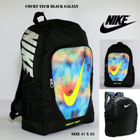 Harga tas ransel nike courth tech full black galaxy check greenlight | Hargalu.com