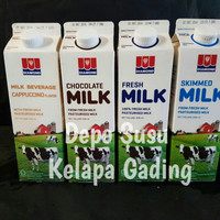 Susu Diamond Coklat / Straw / Skim 1lt   fresh milk segar 1 lt Diamon