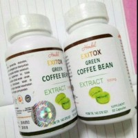 Jual New! Obat Herbal, Obat Pelangsing Badan Exitox Green Coffee Bean Asli. Murah