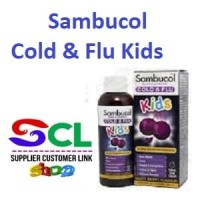 Sambucol Cold & Flu For Kids 120ml Syrup