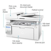 PRINTER HP M130FN PRINT SCAN COPY FAX LASERJET