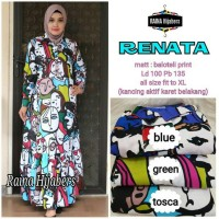 renata dress gamis ori RAINA