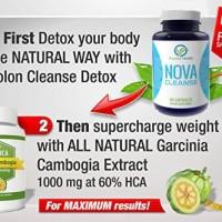 Paket Obat Diet Detox Usus + Garcinia Cambogia