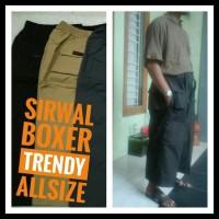 Baru . Sirwal Boxer Trendy Allsize