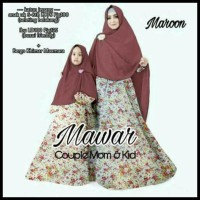 Stock Banyak . . Baju Gamis Couple Ibu Dan Anak Busui / Gamis Couple