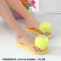 Harga Sandal Spon Pom Wanita Hargano.com