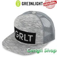 Topi GREENLIGHT Original Terbaru Snapback Trucker Jaring 15GR