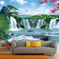 Wallpaper Custom Air Terjun