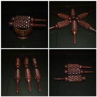 alat pijat refleksi kayu remas tangan kayu sonokeling