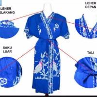 Jual promo murah kimono batik batik kencana ungu ukuran D daster all size Murah