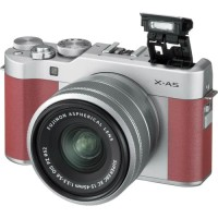 Harga fujifilm x a5 mirrorless digital camera with 15 45mm lens pink | Pembandingharga.com
