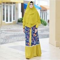 GAMIS SAHARA BATIK / Pakaian Muslim / Baju Wanita