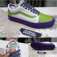 Vans Oldskool Toy Story Buzz Light Year Free tas sepatu BEST SHOES