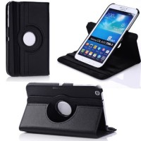 Samsung Galaxy Tab 3 8.0 SM-T311 Rotating Leather Flip Book Case Cover