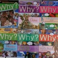 Buku REAMAJ Terbaru Buku Komik Pengetahuan Why?