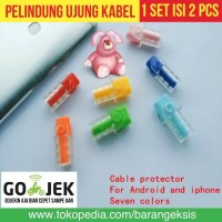 Cable Protector / Pelindung Ujung Kabel / Lightning Cable Saver iPhone
