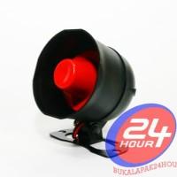 Speaker Horn Alarm 1 suara / Electronic Speaker Horn / Toa Alarm Mobil
