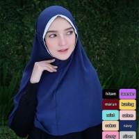 Jilbab Instan Syria Tali Renda