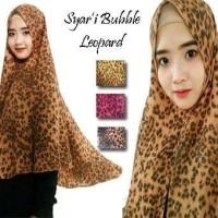 Khimar Syar'i Bubble Leopard