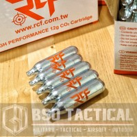 gas co2 rcf for pistol airsoftgun isi 5 tabung @12gr