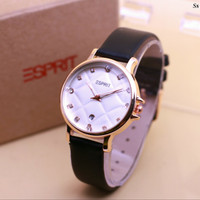 (Murah) Jam tangan wanita esprit sofa E005 + box